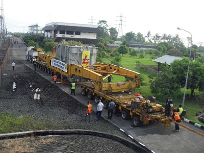 PT Masaji Prayasa Cargo  Dukung Pembangunan Infrastruktur  Ketenaga Listrikan