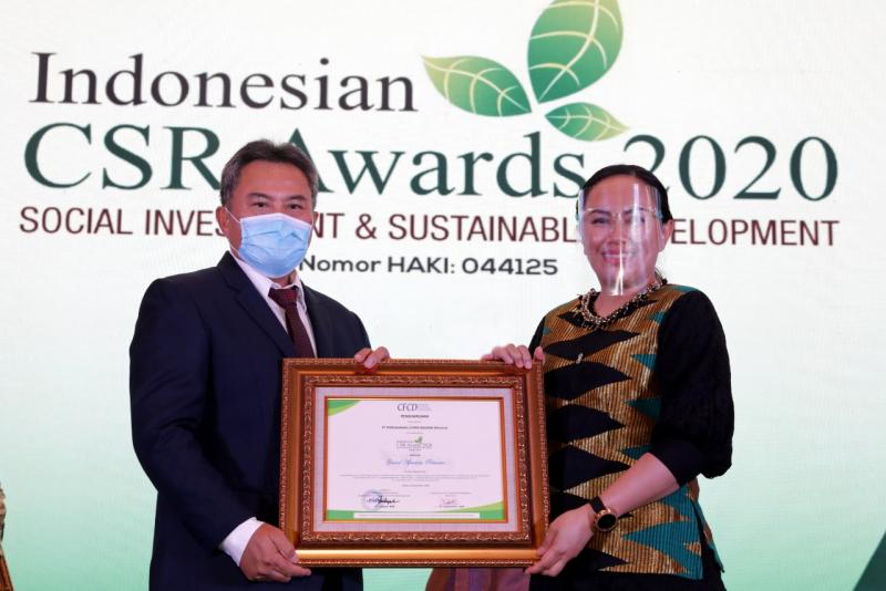 PLN Raih 10 Penghargaan Indonesia CSR Award 2020
